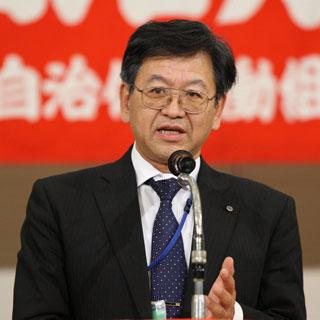 自治労連中央執行委員長 野村 幸裕
