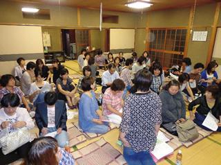 西条市職労現業評議会の学習会には43人の組合員が参加