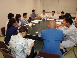 伊予市職労執行委員会での学習会